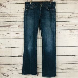 7 For All Mankind 7FAM Bootcut Jeans 30